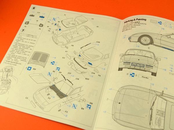 Image 12: Porsche 944 Turbo | Maqueta de coche en escala1/24 fabricado por Hasegawa (ref.20260)