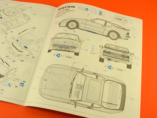 Image 13: Porsche 944 Turbo | Maqueta de coche en escala1/24 fabricado por Hasegawa (ref.20260)
