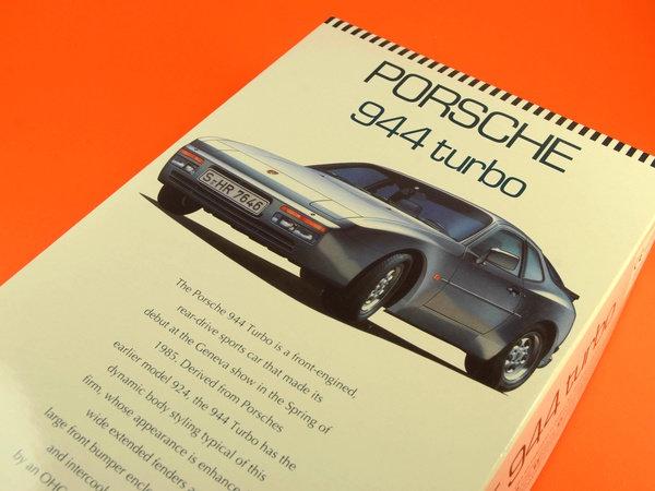 Image 14: Porsche 944 Turbo | Maqueta de coche en escala1/24 fabricado por Hasegawa (ref.20260)