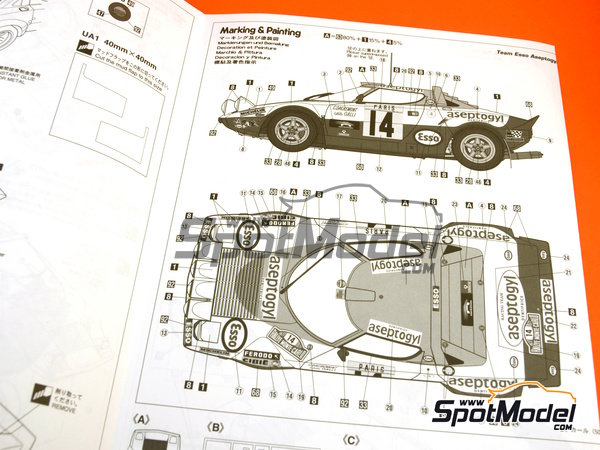 Lancia stratos wiring diagram
