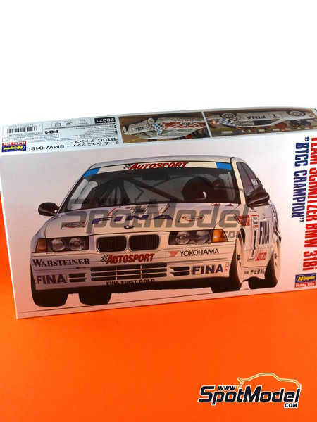 BMW 318i - British Touring Car Championship - BTCC 1994 | Model car kit in 1/24 scale manufactured by Hasegawa (ref. 20271) image