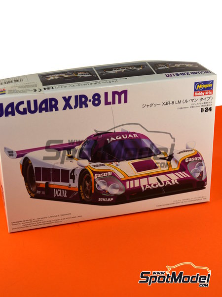 Jaguar XJR-8 LM -  1987 | Model car kit in 1/24 scale manufactured by Hasegawa (ref. 20272) image
