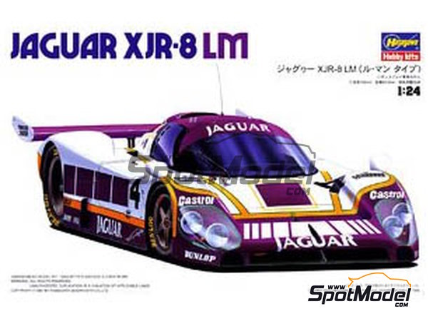 Image 1: Jaguar XJR-8 LM -  1987 | Model car kit in 1/24 scale manufactured by Hasegawa (ref. 20272)