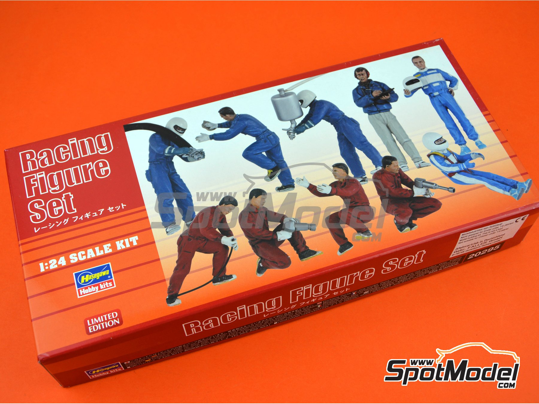 Image 6: Racing figure set | Figures set in 1/24 scale manufactured by Hasegawa (ref. 20295)