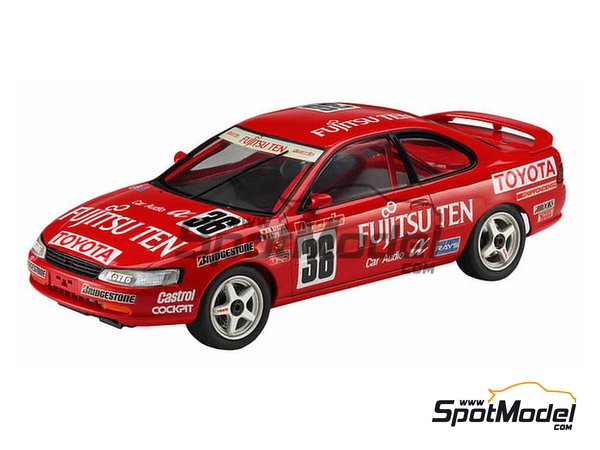 Image 1: Toyota Corolla AE101 | Model car kit in 1/24 scale manufactured by Hasegawa (ref.20302)