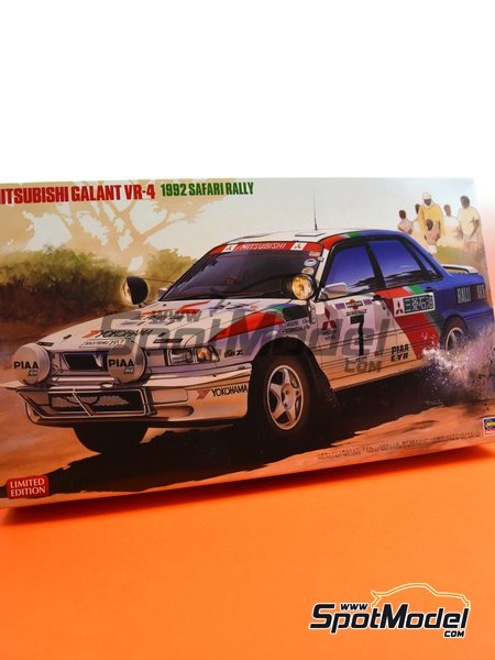 Mitsubishi Galant VR-4 - Safari Rally 1992 | Model car kit in 1/24 scale manufactured by Hasegawa (ref. 20307) image