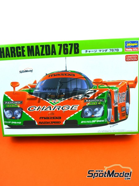 Mazda 767B Charge - 24 Hours Le Mans 1989 | Model car kit in 1/24 scale manufactured by Hasegawa (ref. 20312) image