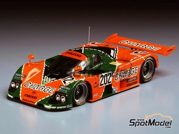 Image 1: Mazda 767B Charge - 24 Hours Le Mans 1989 | Model car kit in 1/24 scale manufactured by Hasegawa (ref. 20312)