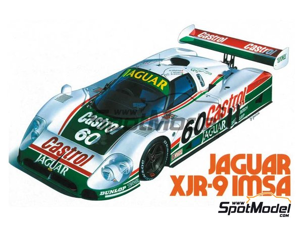 Image 1: Jaguar XJR-9 - 24 Hours Daytona 1988 | Model car kit in 1/24 scale manufactured by Hasegawa (ref. 20316)