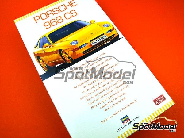 Image 13: Porsche 968 Club Sport | Maqueta de coche en escala1/24 fabricado por Hasegawa (ref.20317)