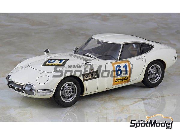 Image 1: Toyota 2000GT - 500km de Suzuka 1967 | Maqueta de coche en escala1/24 fabricado por Hasegawa (ref.20327)
