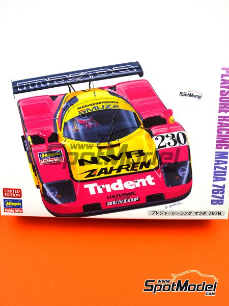 Mazda 767B NWB - 24 Hours Le Mans 1992 | Model car kit in 1/24 scale manufactured by Hasegawa (ref.20359) image