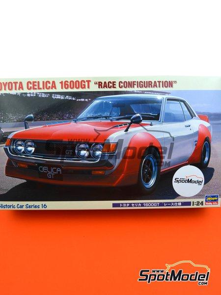 Toyota Celica 1600GT | Maqueta de coche en escala1/24 fabricado por Hasegawa (ref.21216, tambien HC-16) image
