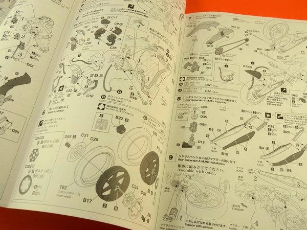 Image 5: Honda NSR250 Telefonica Movistar Repsol - Campeonato del Mundo de Motociclismo 2001 | Maqueta de moto en escala1/12 fabricado por Hasegawa (ref.21502, tambien BK-2)