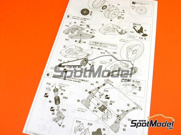 Image 10: Honda NSR500 HB - Campeonato del Mundo de Motociclismo 1989 | Maqueta de moto en escala1/12 fabricado por Hasegawa (ref.21714)