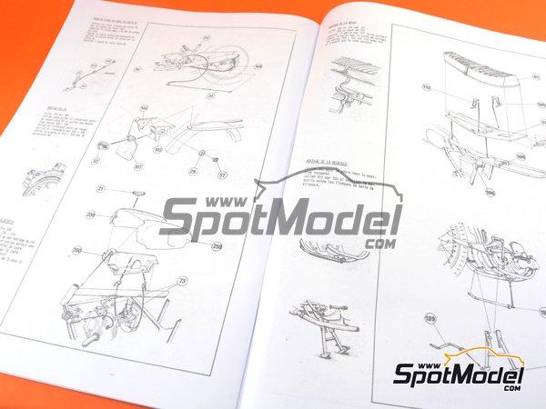 Image 12: Norton Commando 750 Roadster | Maqueta de moto en escala1/8 fabricado por Heller (ref.52996)