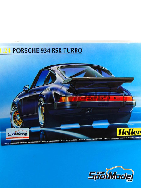 Car kit 1/24 by Heller - Porsche 934 RSR Turbo