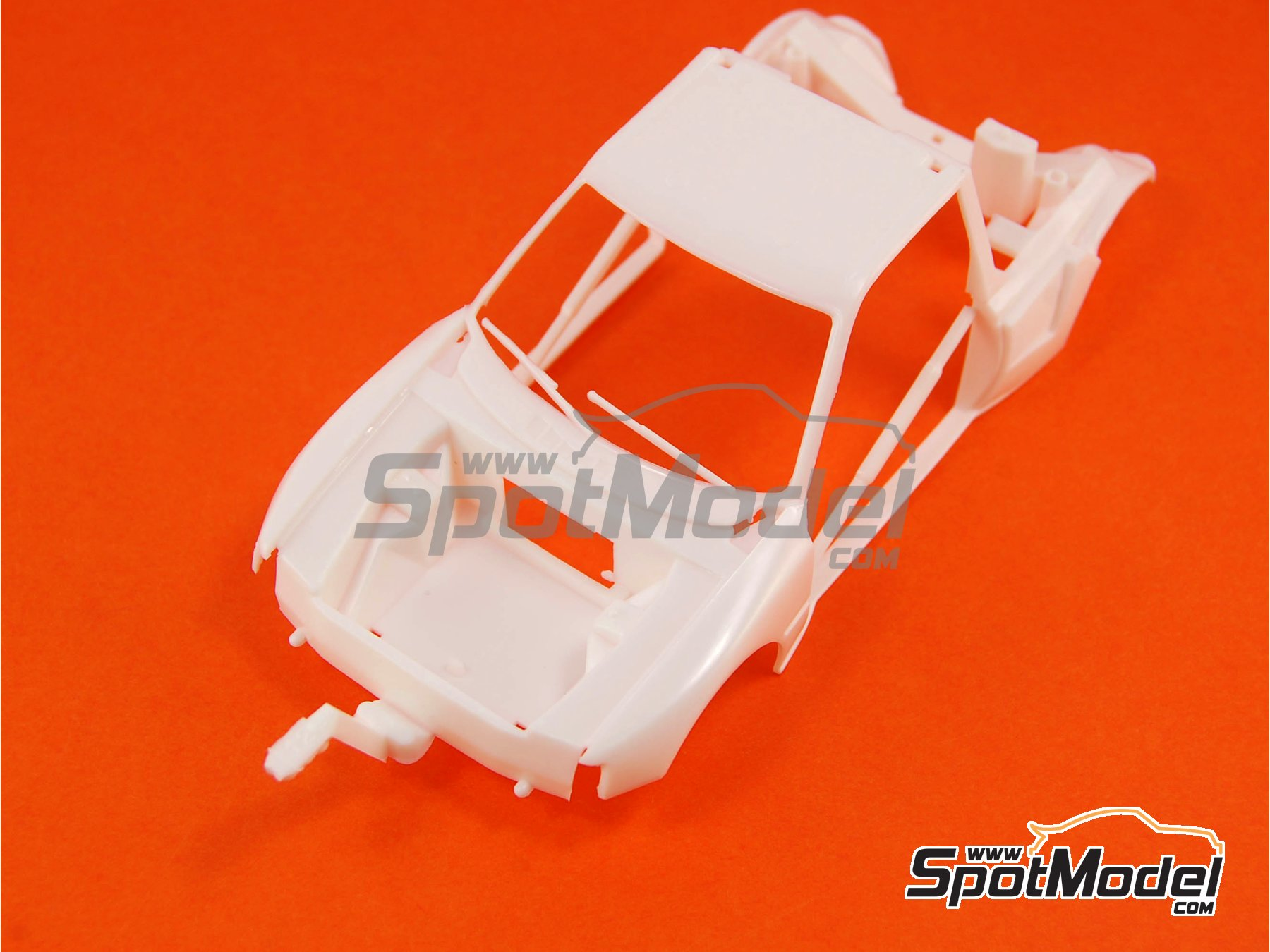 Image 7: Peugeot 205 Evo 2 Turbo 16 Shell - Tour de Corse 1986 | Model car kit in 1/24 scale manufactured by Heller (ref. 80716)