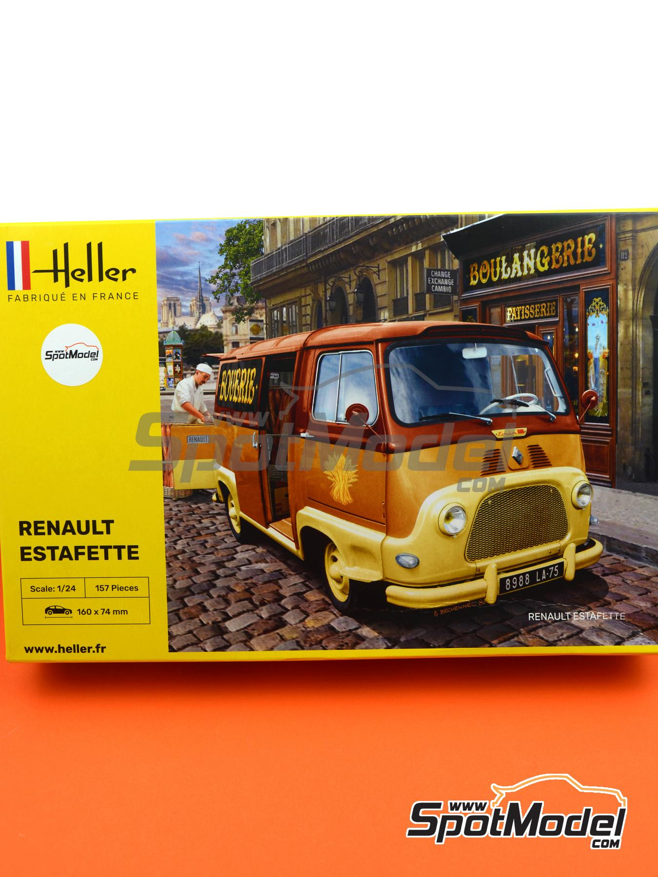 Renault Estafette | Model van kit in 1/24 scale manufactured by Heller (ref. 80743) image