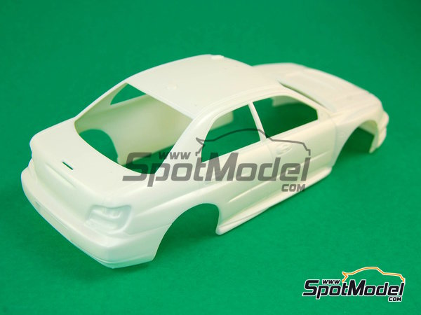 Image 4: Subaru Impreza WRC - Chypre Rally 2003 | Model car kit in 1/24 scale manufactured by Heller (ref. 80750)