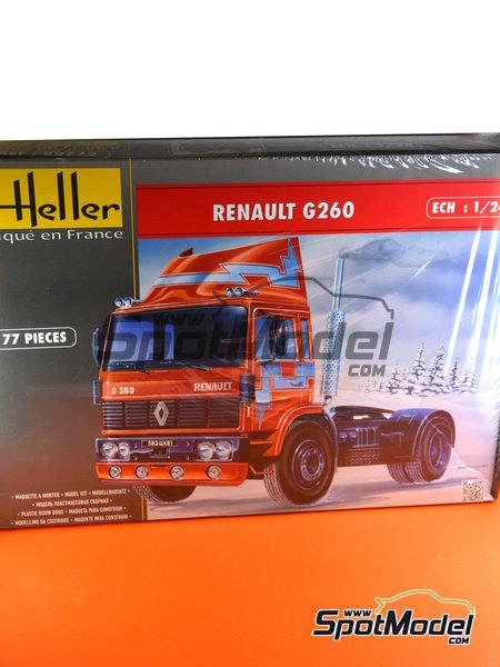 Renault G260 | Maqueta de camión en escala1/24 fabricado por Heller (ref.80772) image