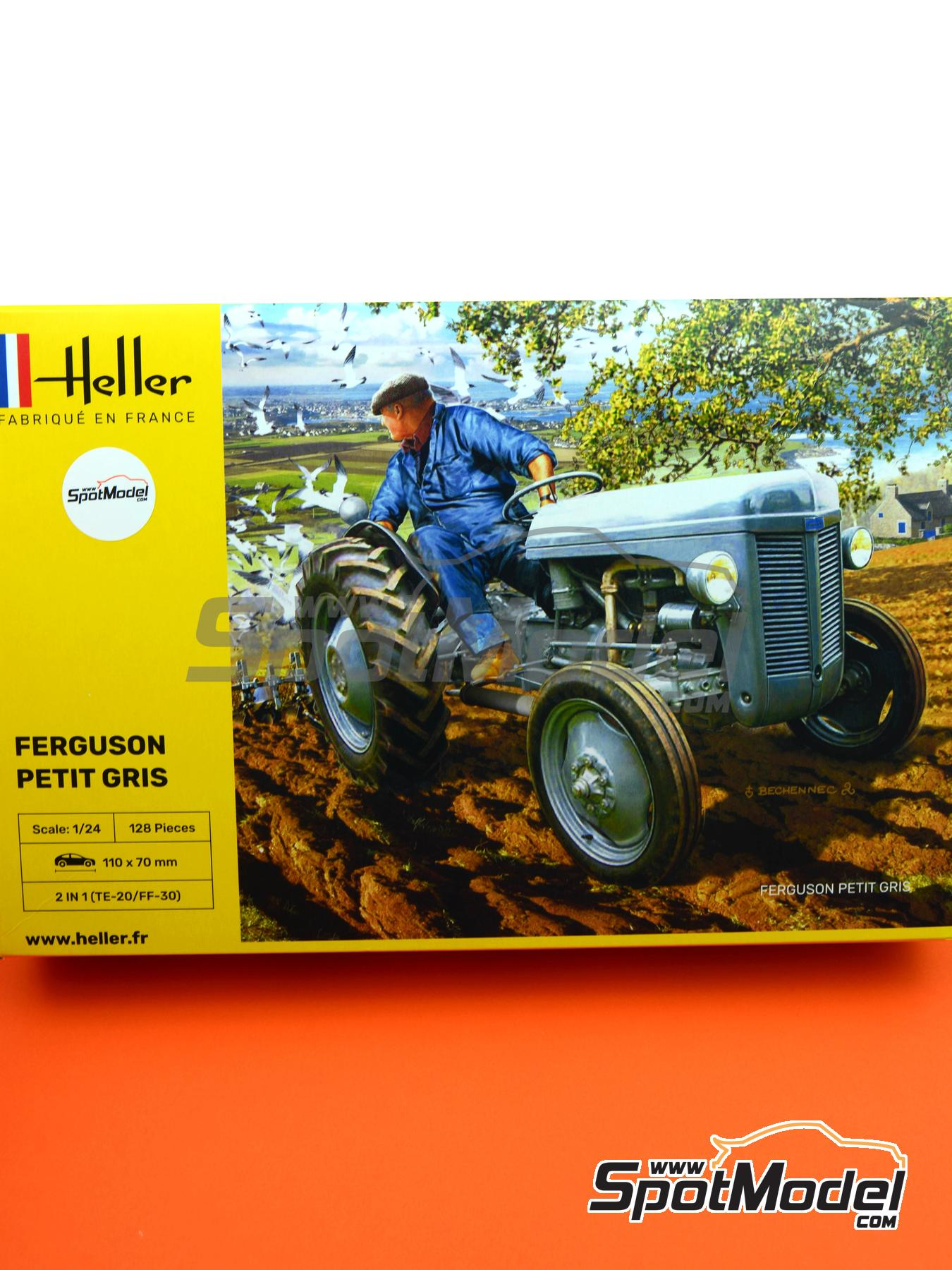 Ferguson TE-20 | Model kit in 1/24 scale manufactured by Heller (ref. 81401) image