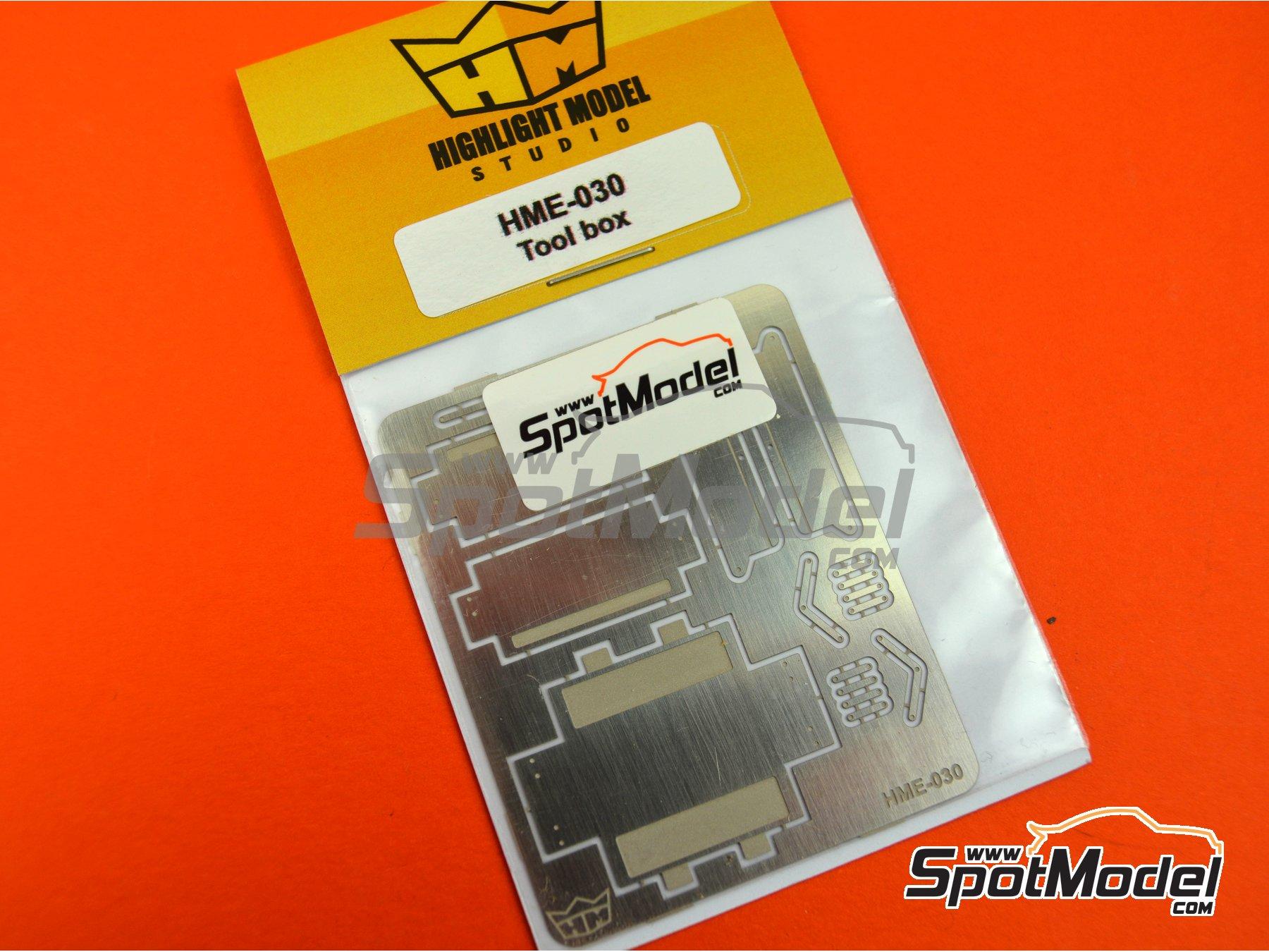 Image 5: Caja de herramientas | Herramientas en escala1/24 fabricado por Highlight Model Studio (ref.HME-030)