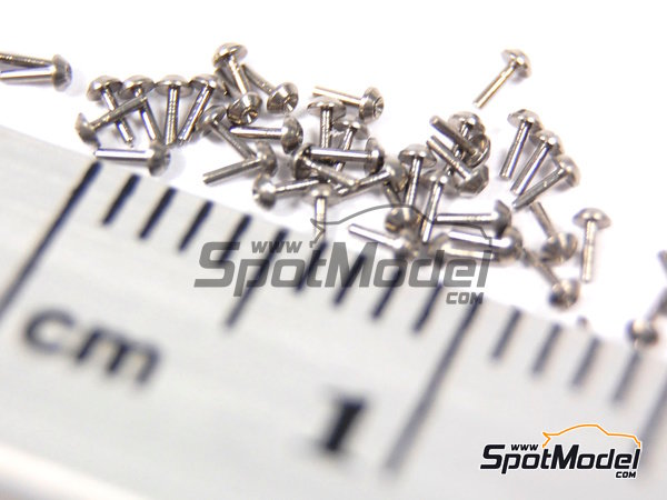 Image 5: Tapered head rivets 1.00mm | Rivets manufactured by Hobby Design (ref. HD07-0017)