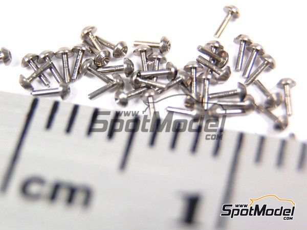 Image 6: Tapered head rivets 1.00mm | Rivets manufactured by Hobby Design (ref. HD07-0017)