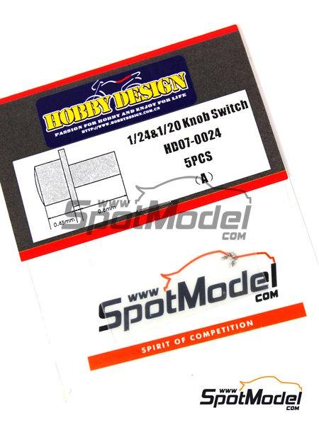 Interruptor | Detalle en escala1/24 fabricado por Hobby Design (ref.HD07-0024) image