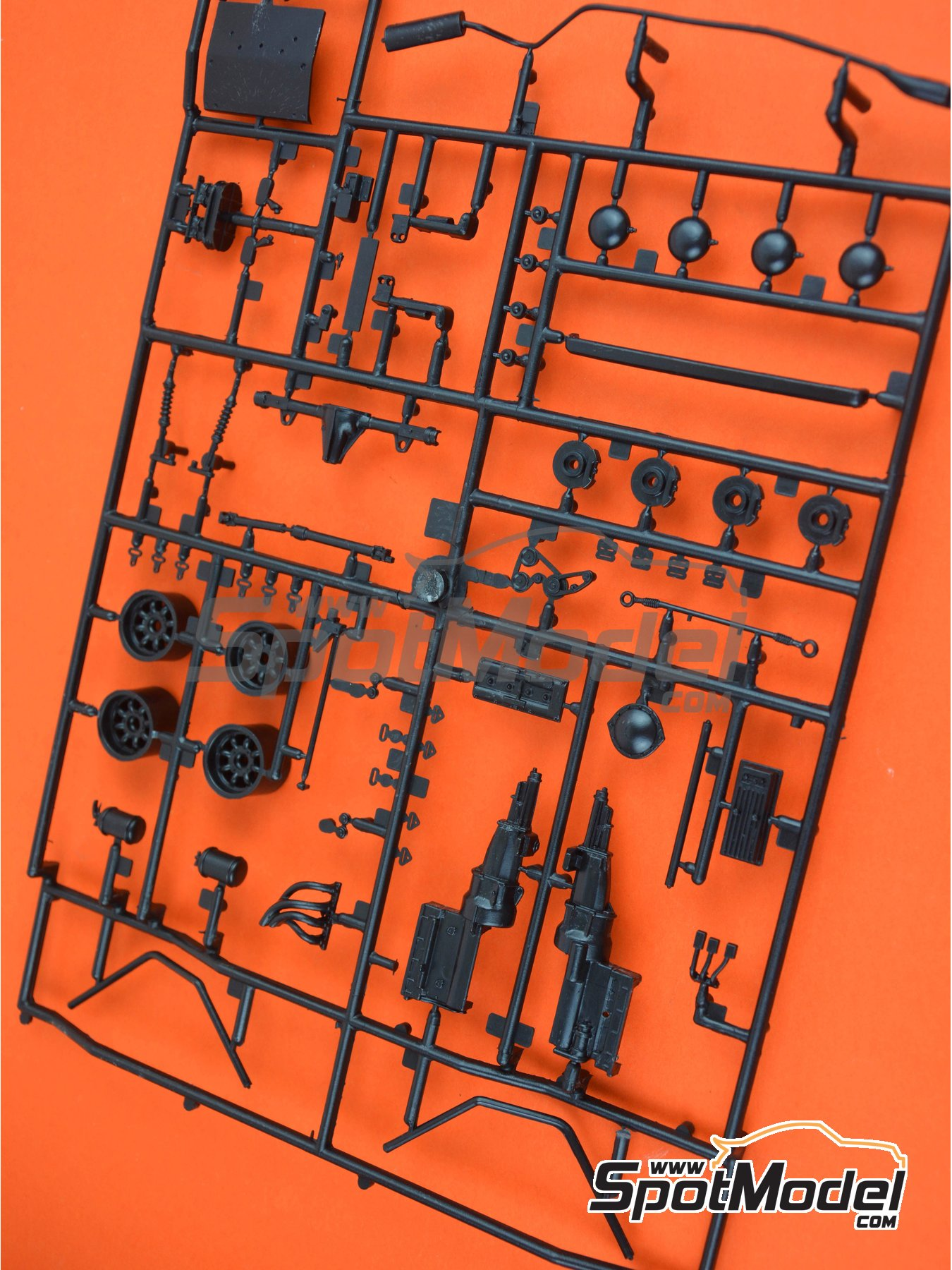 Ford Escort Mk. II RS1800: Sprue A | Spare part in 1/24 scale manufactured by Italeri (ref. 3655-SPRUE-A) image
