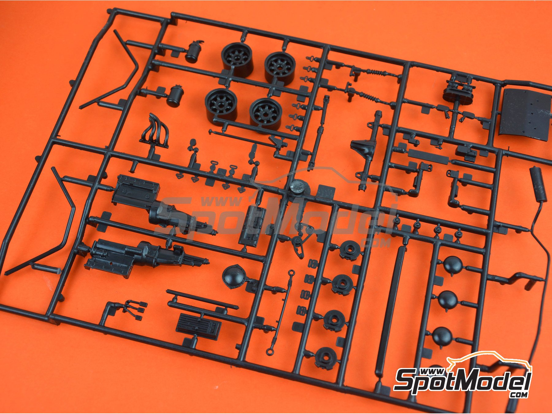 Image 1: Ford Escort Mk. II RS1800: Sprue A | Spare part in 1/24 scale manufactured by Italeri (ref. 3655-SPRUE-A)