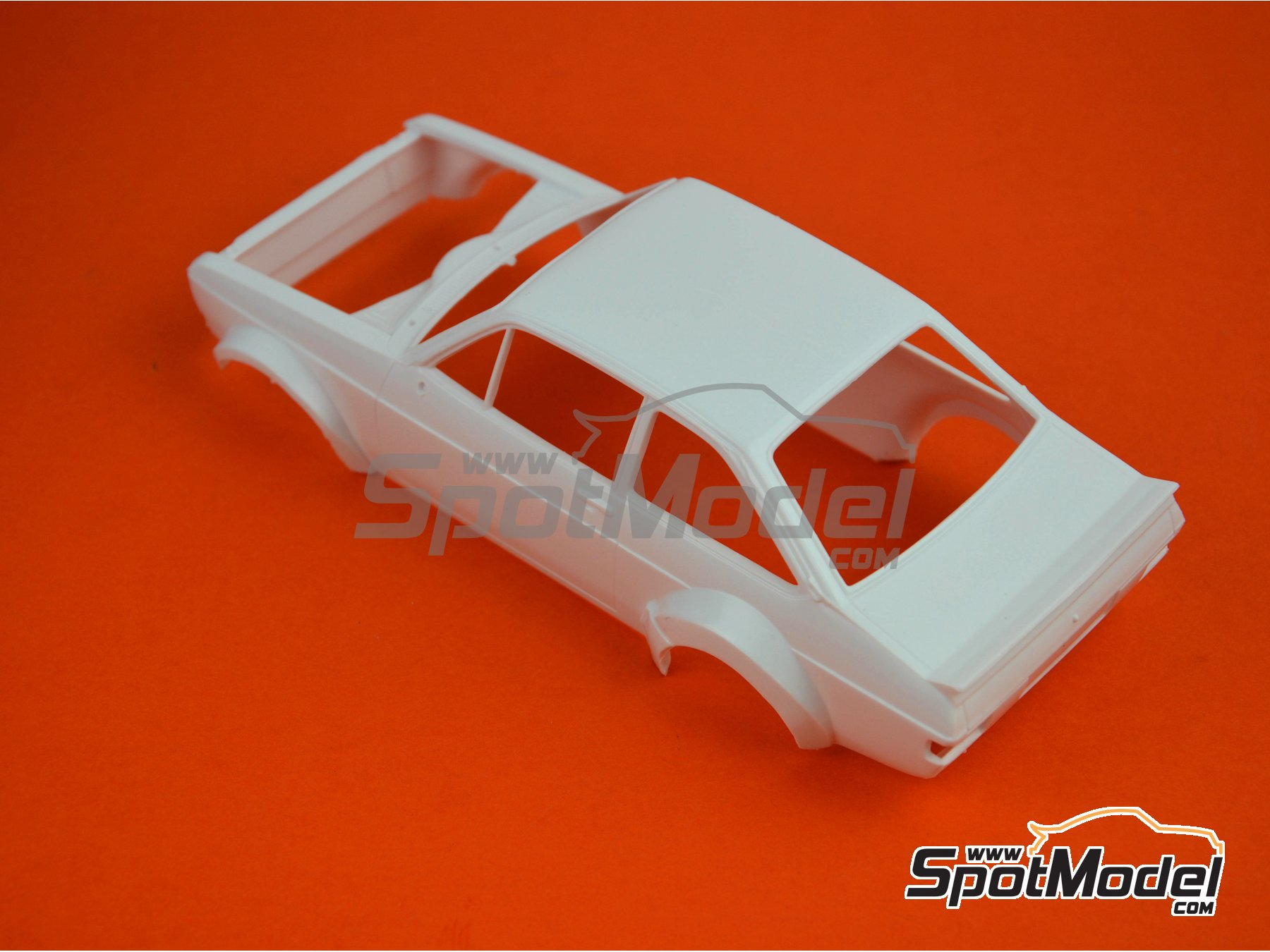 Image 6: Ford Escort Mk. II RS1800 - Montecarlo Rally 1979 | Model car kit in 1/24 scale manufactured by Italeri (ref. 3655)
