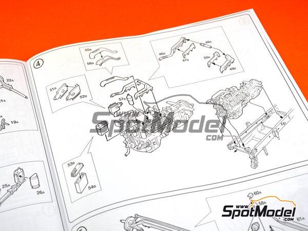 Image 7: Scania 164L Topclass 580 CV | Model truck kit in 1/24 scale manufactured by Italeri (ref.3819)
