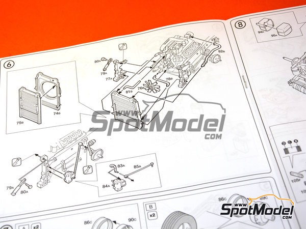 Image 8: Scania 164L Topclass 580 CV | Model truck kit in 1/24 scale manufactured by Italeri (ref.3819)