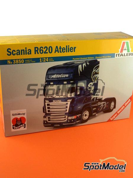 Scania R620 Atelier | Maqueta de camión en escala1/24 fabricado por Italeri (ref.3850) image