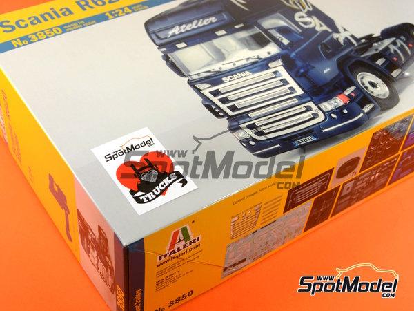 Image 16: Scania R620 Atelier | Maqueta de camión en escala1/24 fabricado por Italeri (ref.3850)