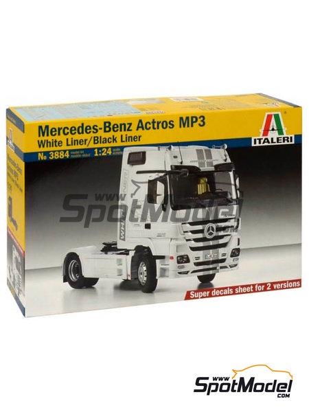 Mercedes-Benz Actros MP3 | Maqueta de camión en escala1/24 fabricado por Italeri (ref.3884) image