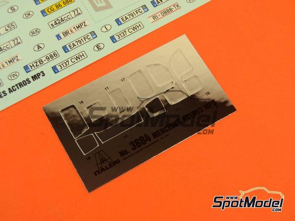 Image 7: Mercedes-Benz Actros MP3 | Maqueta de camión en escala1/24 fabricado por Italeri (ref.3884)