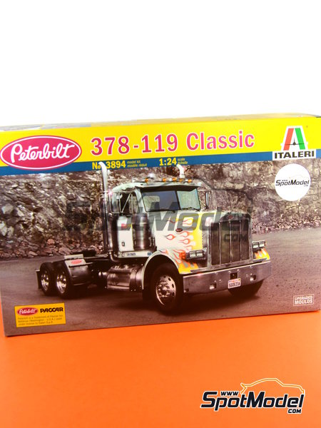 Peterbilt 378-119   Model truck kit in 1/24 scale manufactured by Italeri (ref.3894) image