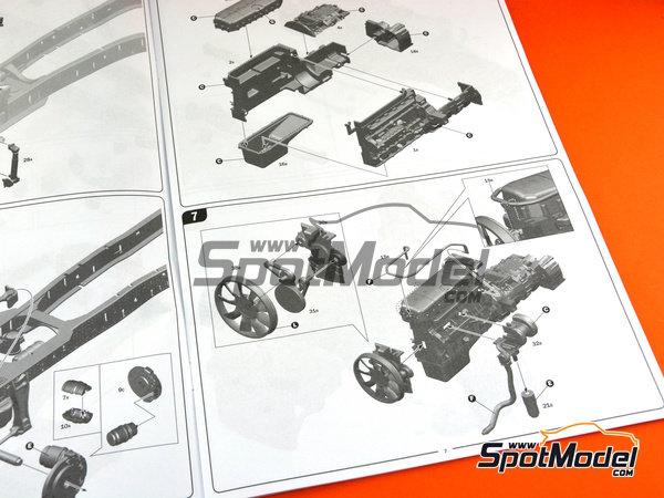Image 12: Iveco Stralis 450 | Maqueta de camión en escala1/24 fabricado por Italeri (ref.3898)