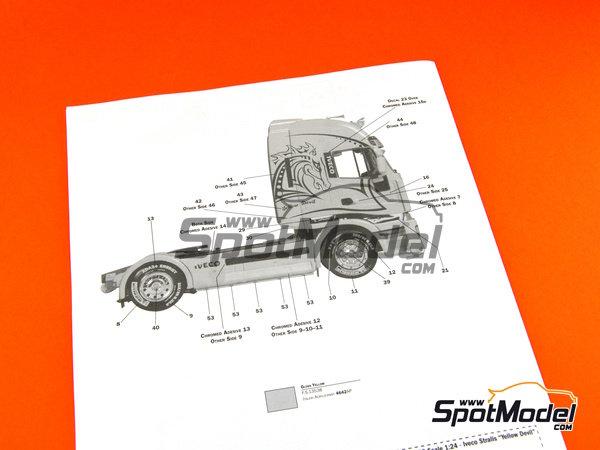 Image 14: Iveco Stralis 450 | Maqueta de camión en escala1/24 fabricado por Italeri (ref.3898)