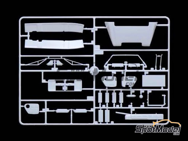 Image 10: MAN F2000 6x4 | Model truck kit in 1/24 scale manufactured by Italeri (ref. 3901)
