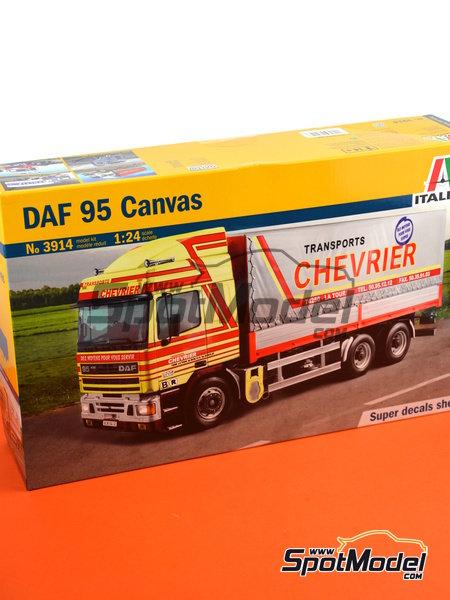 DAF 95 Canvas | Maqueta de camión en escala1/24 fabricado por Italeri (ref.3914) image