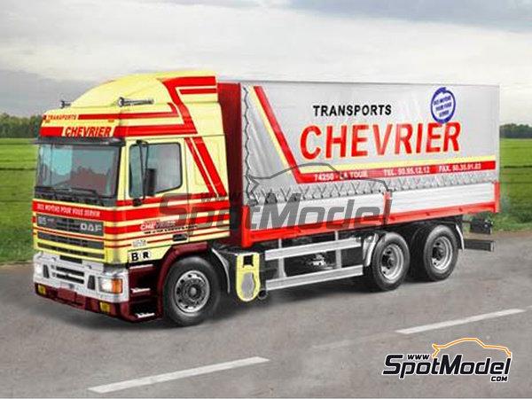Image 1: DAF 95 Canvas | Maqueta de camión en escala1/24 fabricado por Italeri (ref.3914)