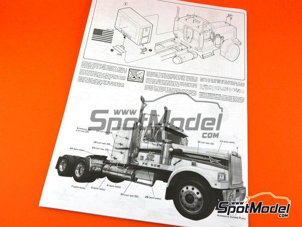 Image 14: Classic Western Star 4964 | Maqueta de camión en escala1/24 fabricado por Italeri (ref.3915)