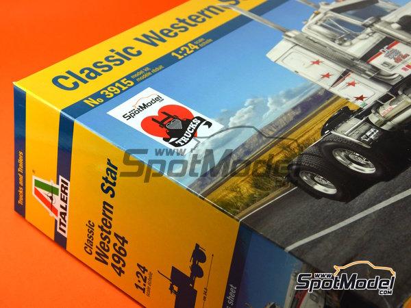 Image 15: Classic Western Star 4964 | Maqueta de camión en escala1/24 fabricado por Italeri (ref.3915)