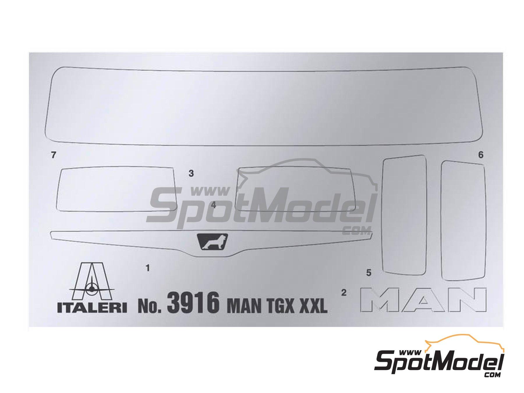 Image 3: Man TGX XXL Euro 6 | Maqueta de camión en escala1/24 fabricado por Italeri (ref.3916)
