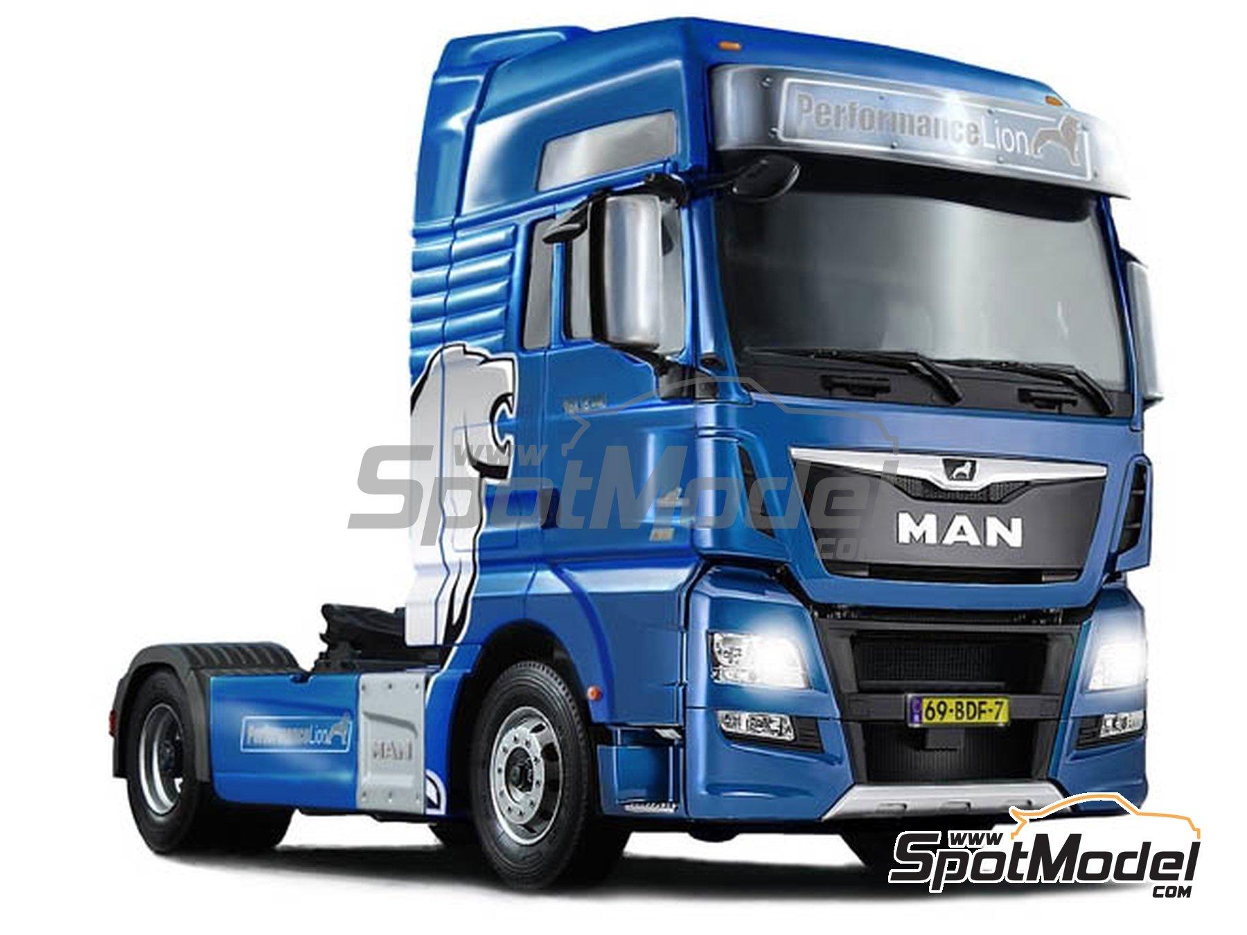 Image 4: Man TGX XXL Euro 6 | Maqueta de camión en escala1/24 fabricado por Italeri (ref.3916)