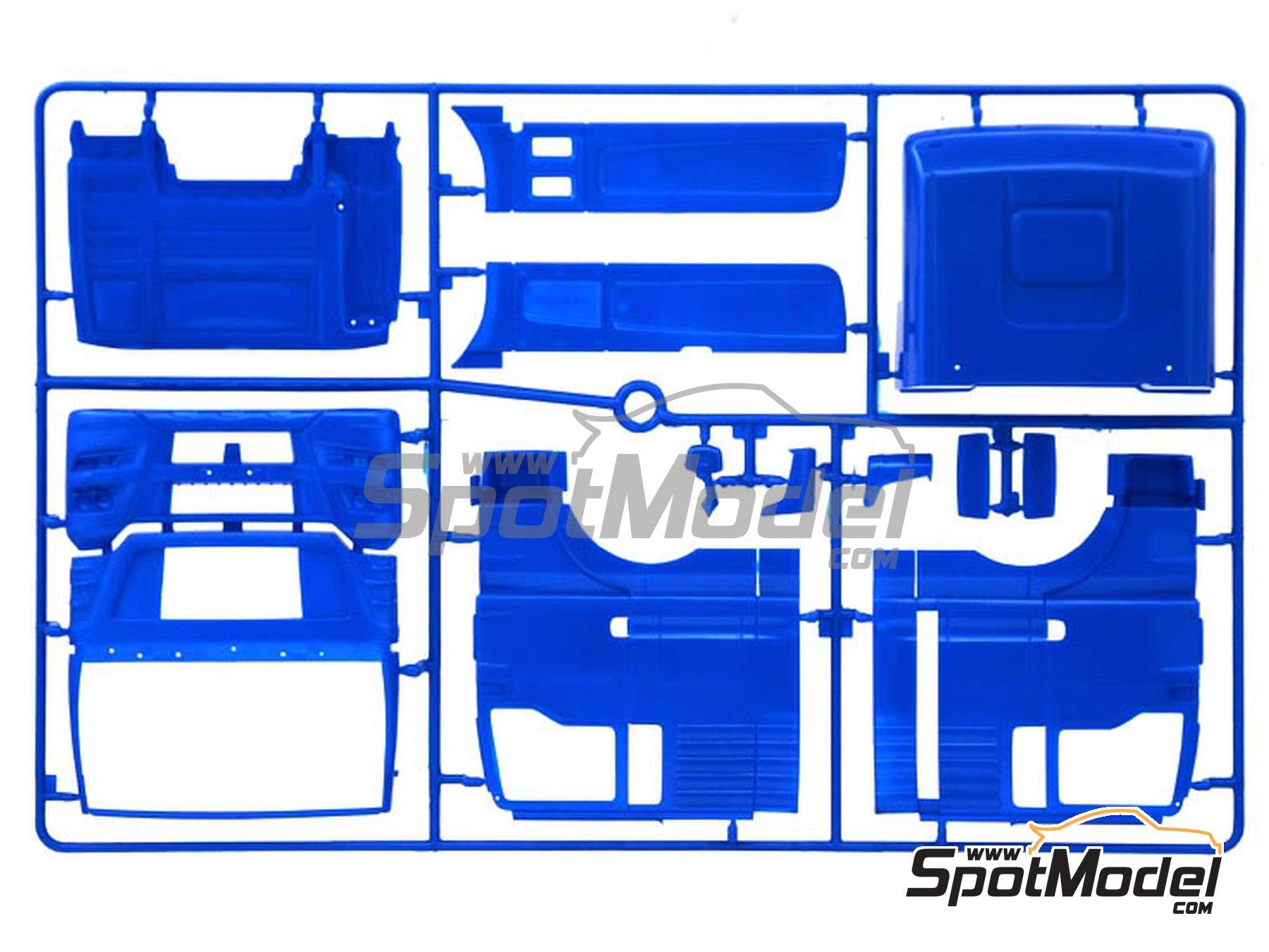 Image 5: Man TGX XXL Euro 6 | Maqueta de camión en escala1/24 fabricado por Italeri (ref.3916)